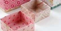 Crafts ~ paper and origami