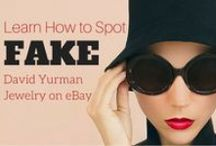 "How to Spot a Fake... / How do you tell the ""Real"" thing vs. a Fake? Many designer brand knock-offs are being sold at premium prices and look like the real thing. Check out this Board to find out what's real or fake so as not get ripped off when you're looking to purchase your next designer brand!"