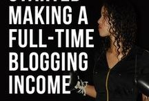 Blogging For Dollars / Learn how to make money with your blog. Don't have a blog yet? Learn how to identify what kind of blog to set up, how to monetize it, and how to write valuable content to keep people coming back!
