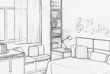 Drawing ~ rooms