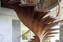 Treppen / innen und außen