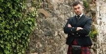 Urban Groom / How to style your groom for a tweed, rustic, modern wedding.