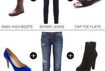 Dicas de como usar / Tamanho, sapatos, cores