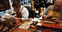Magnanni Special Event 2017 / Yearly hand finishing and painting event by Magnanni at Zwartjes van 1883 in Amsterdam
