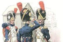 Napoleonic 1800 - 1815 and militairy illustrations
