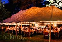 Tented Events / Everything tents to keep your outdoor wedding or special event looking fabulous.