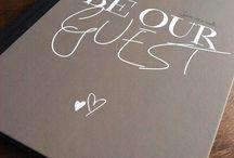 Wedding Stationary | Guestbooks
