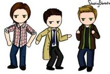 Supernatural ♥ / Just all my favorite boys (: