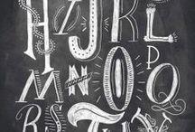 Typografia / Kiinnostavia kirjainasioita