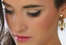 Ojos y labios / Detalles de maquillajes