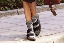 Birckenstock / sandalen & slippers, kurk