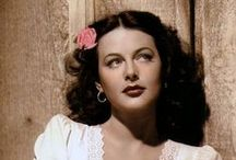 Hedy Lamarr / Beautiful Talented Actress - Gifted Inventor