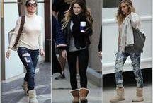 Celebrity style by UGG / Celebrity style by UGG