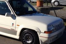 Renault 5 WHITE / Renault 5 gt turbo WHITE