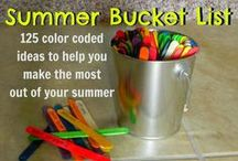 Schools Out, Now What! Summer / Fun day activities for kids and families.