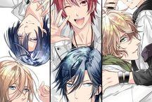 Uta no Prince sama ☺️❤️ / I ship Nanami with EVERYONE  And Ren is currently my favorite❤️