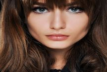 Wave perm with fringe