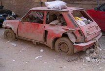 Renault 5 abbandonate / Renault 5 Alpine, Turbo, GT Turbo abbandonate.