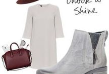 Outfit Ideas / Here you can find some outfit ideas to try with our shoes!