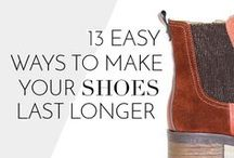 Tips & Tricks / Check out these tricks to make your shoes last longer and keep your feet happy!
