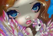 Art by Jasmine Becket Griffith / by Kerry Anderson