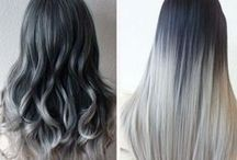 Haircolor / Beautiful art hair color