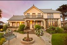 The House / Cass House Inn - a historic bed & breakfast in the beach town of Cayucos, California.