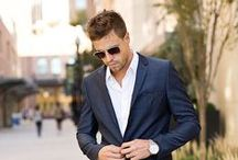 """Style Inspiration / A well dressed man helps her say  """"I DO"""" when you pop the big question."""