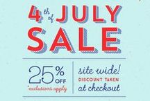#4thOfJuly Holiday Marketing & Display Inspiration / Celebration of 4th of July and retail design inspiration!