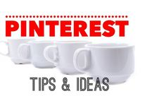 PINTEREST Tips & Ideas / I pin images with info I need about Pinterest marketing.