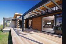 Lockwood Ruapehu Show Home Wellington / Lockwood building system meets stunning design. Beautiful interior design in this modern light bright home.