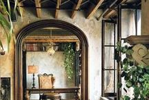 Tuscan Style Old World Design / Tuscan Style   The latest interior design ideas for kitchens, living rooms, bathrooms, bedrooms, home offices & beyond   see more @ UniqueInteriorStyles.com