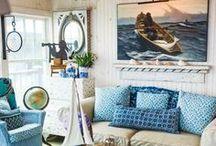 Beach House Coastal Style / Unique Interior Styles - Beach House interiors   Coastal Cottage style   Beach House decorating   Coastal style Living Rooms
