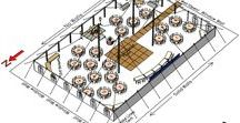 Pole Tent CAD Layouts