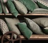 G R E E N S / Beautiful shades of green in our current product and antiques collections