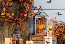Fall Decor Ideas & Autumn Styles / Unique Interior Styles - Fall decor ideas   Autumn decorations   Fall holiday decorating   Seasonal decor