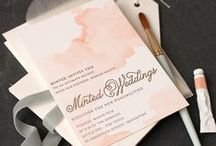 Invitations & Announcements / Beautiful and creative invitations &announcements. / by Janessa Rae Slangen