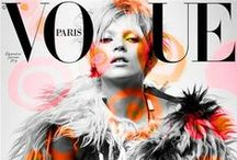 Be on the cover of a Vogue Mag ! / My favorite editorials pics : Vogue, Elle, Vanity Fair... Around the world !