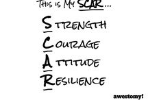 Show your S.C.A.R / Show your Strength. Courage. Attitude. Resilience.