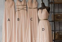 Bridesmaids' Dresses & B-maid Inspiration / by The Broke-Ass Bride (Dana)