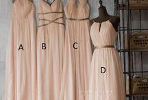 Bridesmaids' Dresses & B-maid Inspiration