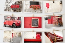 Red Gold white room