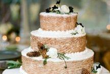 wedding cakes + sweets / Wedding Cake + sweets inspiration for wedding reception. Bohemian cakes, minimalist cakes, modern cakes, geode cakes, wedding cupcakes, wedding donuts.