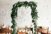wedding decor ideas + inspiration / Bohemian, romantic, rustic, outdoor, free-spirited wedding decor ideas + inspiration.