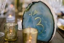 wedding table number ideas / Wedding day table number ideas. Rustic, bohemian, diy, free-spirited, cosmic, pretty.