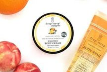 Deep Steep Lifestyle / Photos of our natural bath & body care products in everyday lives!