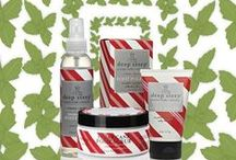 Candy-Mint Foot Care / Deep Steep knows how to care your feet. Enjoy the soothing effects of our peppermint foot care line. #footcare #footscrub