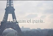 Take me to Paris...please. / My obsession with Paris is out of control...