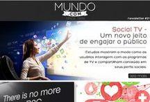 News Mundo.com / A 1º e-news sobre a era digital, criada em 1999.