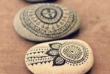 pretty crafts / Bohemian inspired crafts for the home